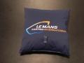 Coussin textile personnalisé - Karting Le Mans